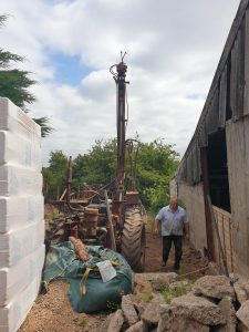 Borehole for Equestrian menage & drinking water for horses